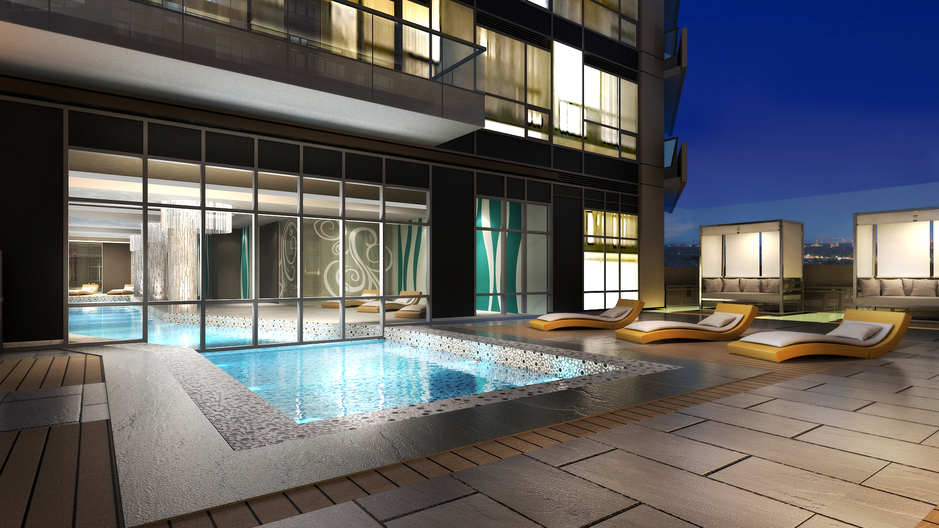 The beverly hills resort landscape design richmond for Courtyard designs bathurst