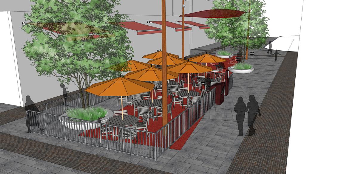 Maplecrete residential commercial landscape design for Courtyard designs bathurst