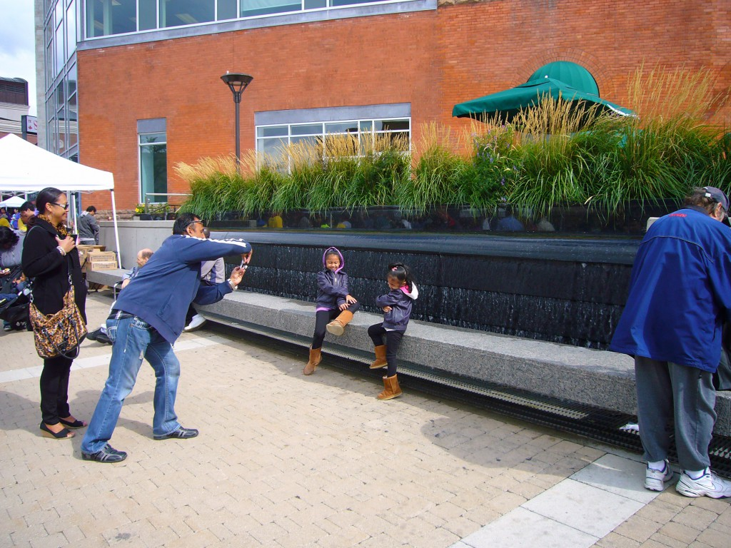 The Water wall as play