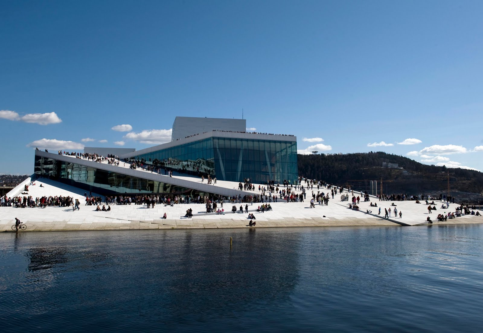 Oslo Opera House Sn 248 Hetta Land Art Design
