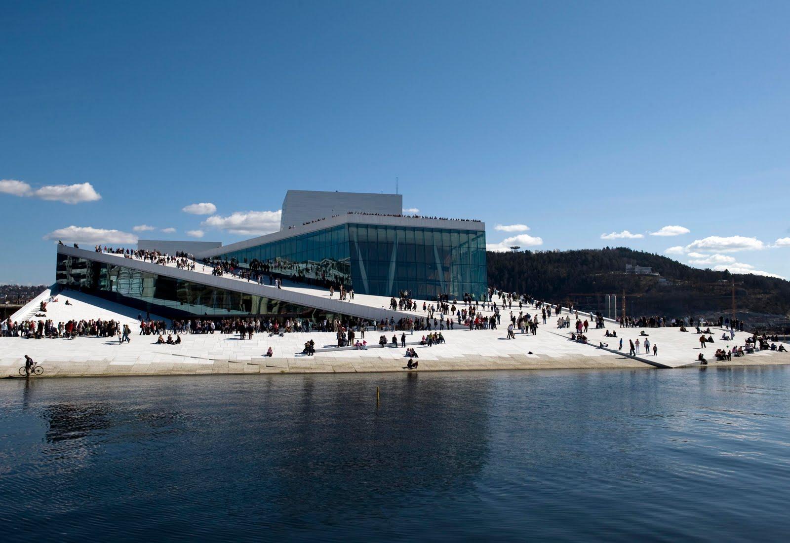 Oslo Opera House – Snøhetta